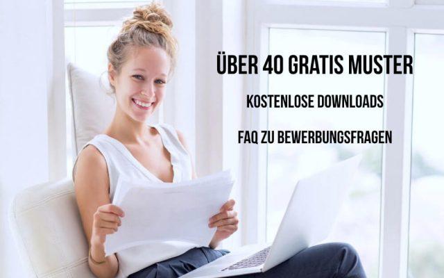 Bewerbung Muster PDF 2017 Download Kostenlos Gratos Vorlage Ausbildung Praktikum