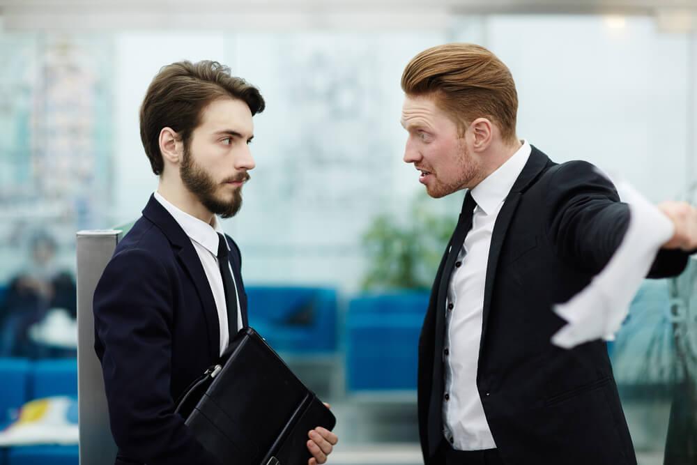 Chef gegen mich Erfolg Wuetend Vorgesetzter Aerger