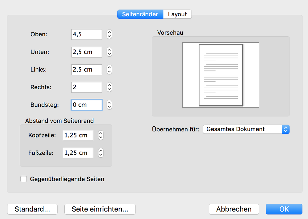 Bewerbung nach DIN 5008: Alle Regeln | karrierebibel.de
