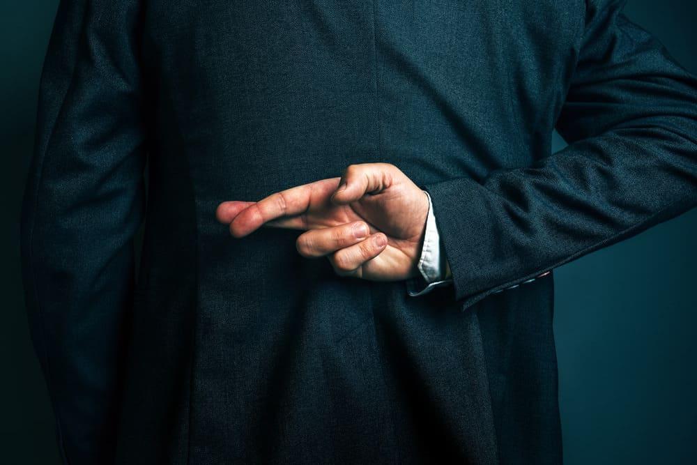 Ehrlichkeit ist eine Tugend Bedeutung selbst beluegen unehrlich Schwindel