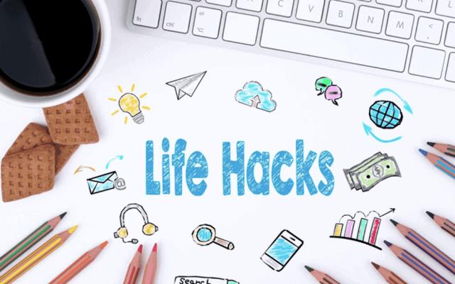 Lifehacks fuers Buero deutsch Definition Tipps und Tricks Technik Kabel Schreibtisch
