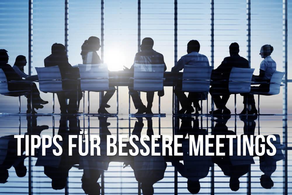 Meeting: 12 Tipps für bessere Meetings und Besprechungen