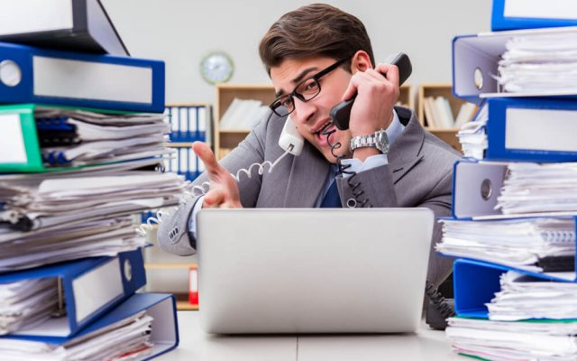 Arbeitswut Elan Eifer Engagement Stress arbeiten