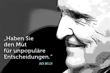 Die 8 Management-Regeln von Jack Welch