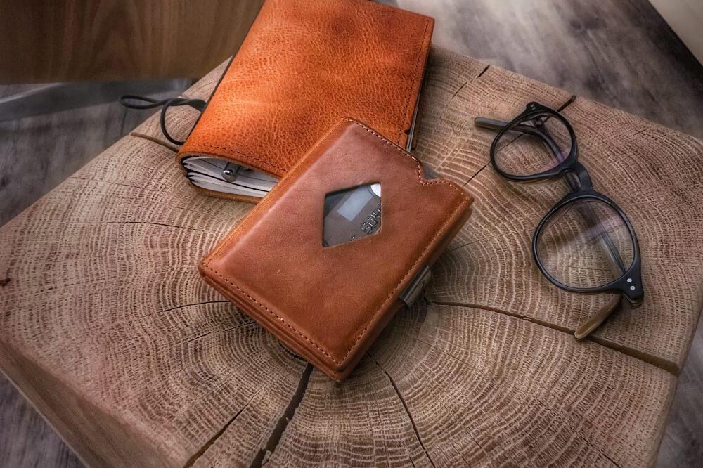 Exentri Wallet: Kreditkartenetui mit RFID-Schutz