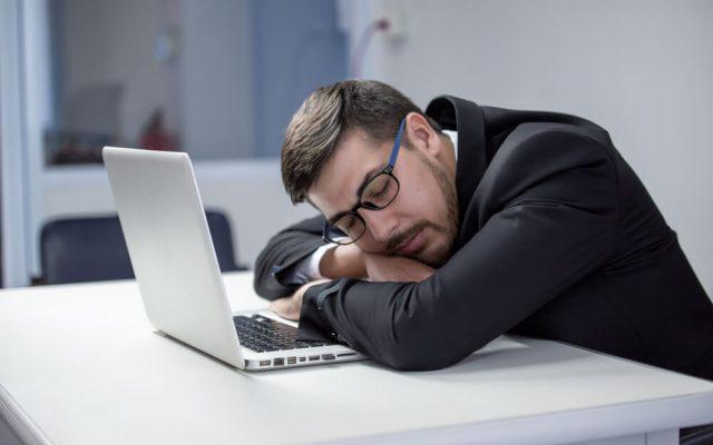 Lustlosigkeit Arbeit Fehlende Motivation Muede Schlapp Unmotiviert