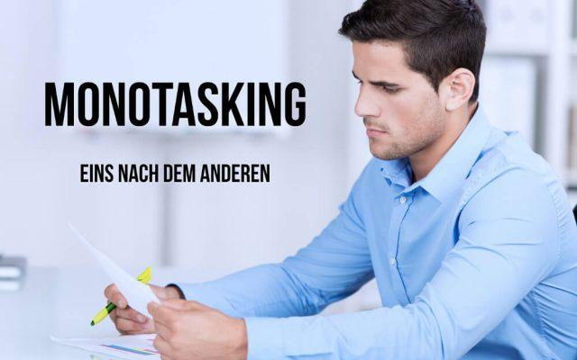 Monotasking Definition Tipps Vorteile Erklaerung Begriff