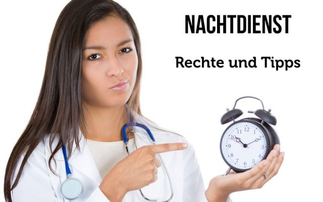 Nachtdienst Krankenschwester im Krankenhaus Pflege Tipps Arbeitsrecht