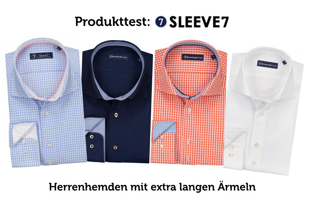 Sleeve7-Test Hemden mit extra langen Arm