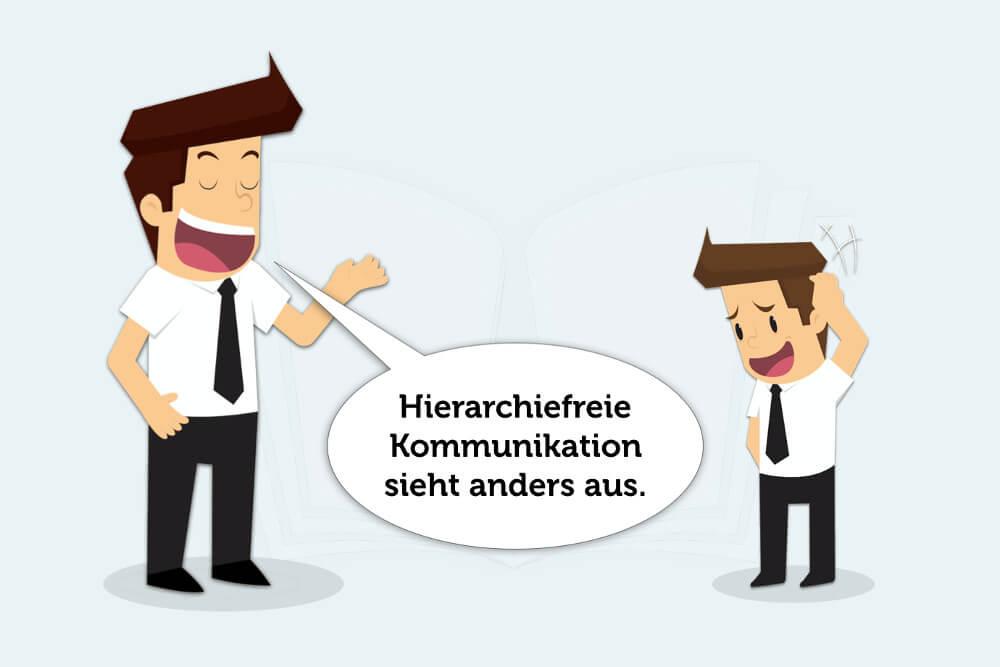 Hierarchiefreie Kommunikation: Wie geht das?