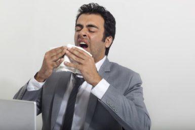 Grippewelle: Erkältungsknigge fürs Büro