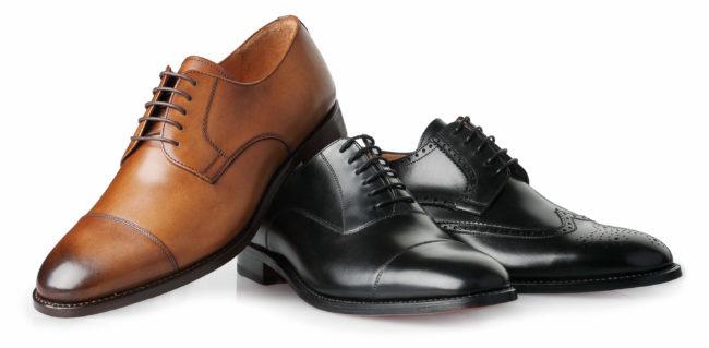 Rahmengenaehte Schuhe Klassiker