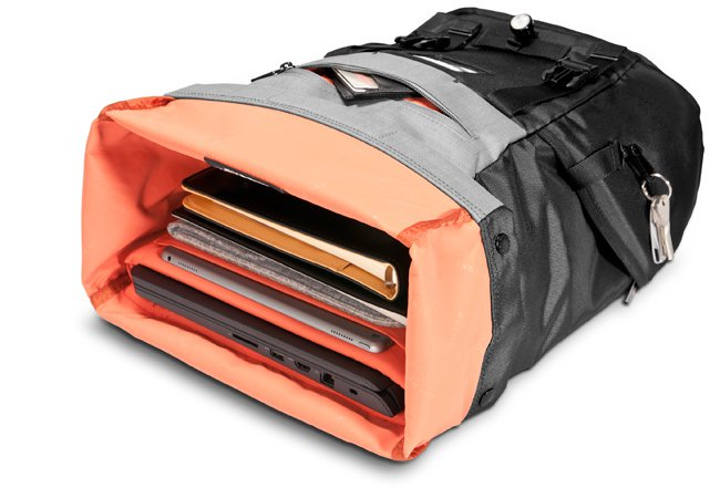 Test: ContemPRO Roll Top Backpack von Everki