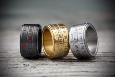 Ringclock: Die Finger-Uhr