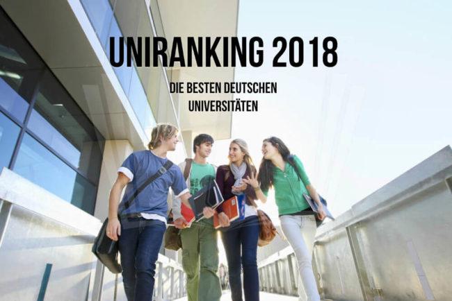Uniranking: Deutschlands beste Unis