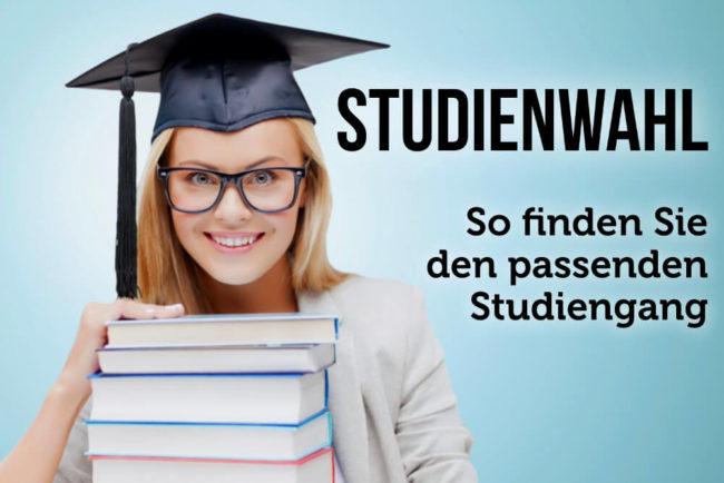Studienwahl: Passende Studiengänge finden