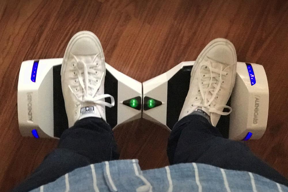 Alienboard Hoverboard Rollbrett Segway Test 02