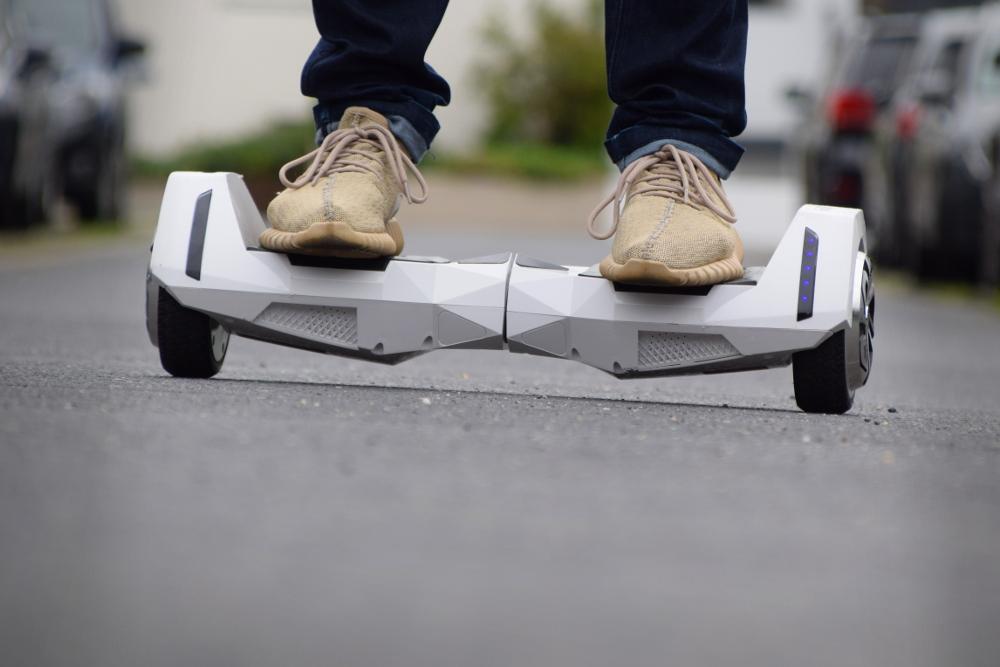 Alienboard Hoverboard Rollbrett Segway Testfahrt
