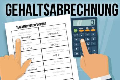 Gehaltsabrechnung: Das müssen Sie wissen