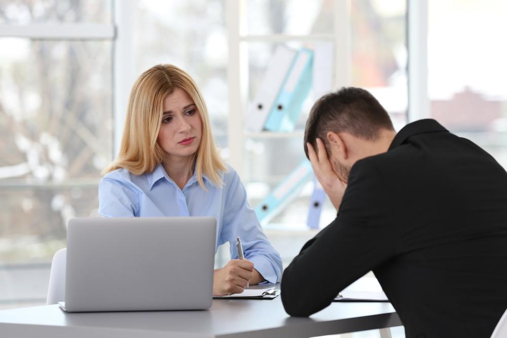 Jobwechsel wegen Ueberlastung Ueberforderung am Arbeitsplatz Symptome
