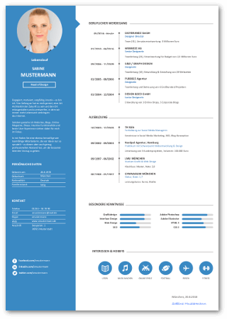 Bewerbung Vordrucke Kostenlose Word Muster Karrierebibelde