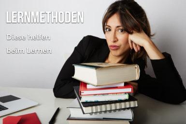 Lernmethoden: So kommen Sie ans Ziel