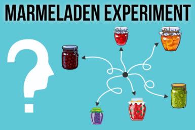 Marmeladen-Experiment: Zu viele Optionen blockieren