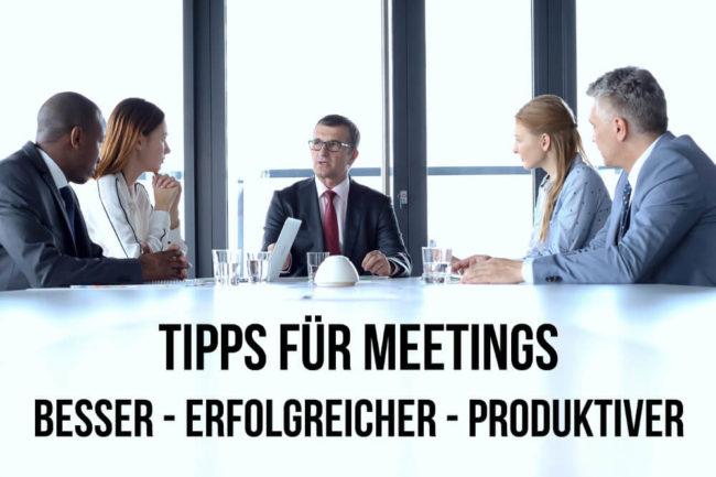 Meeting: Alle Tipps für bessere Besprechungen