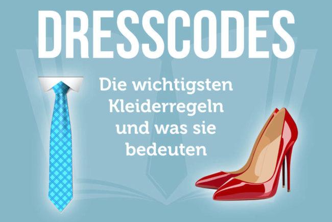 Dresscodes: Von Casual bis White Tie