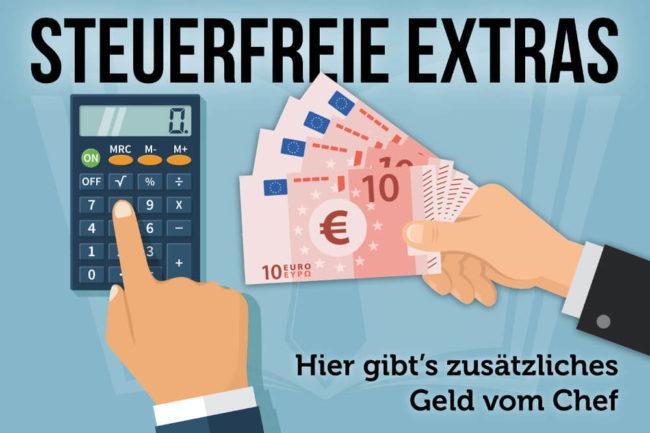 Steuerfreie Extras: Vorteile für Arbeitnehmer