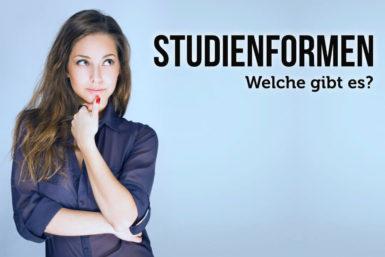 Studienformen: Übersicht und Wege zum Studium