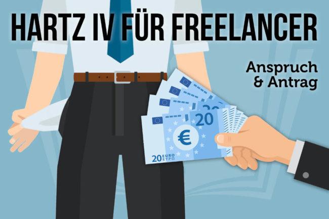 Hartz IV für Freelancer: Anspruch und Antrag