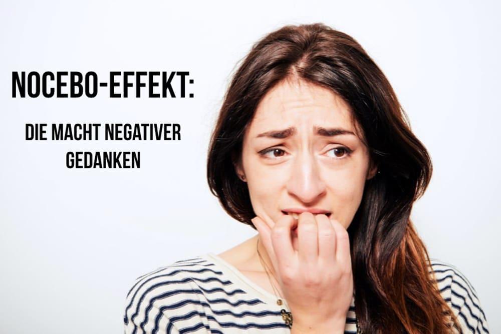 Nocebo Effekt: Einbildung macht krank