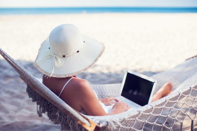 Workation: Dort arbeiten, wo andere Urlaub machen