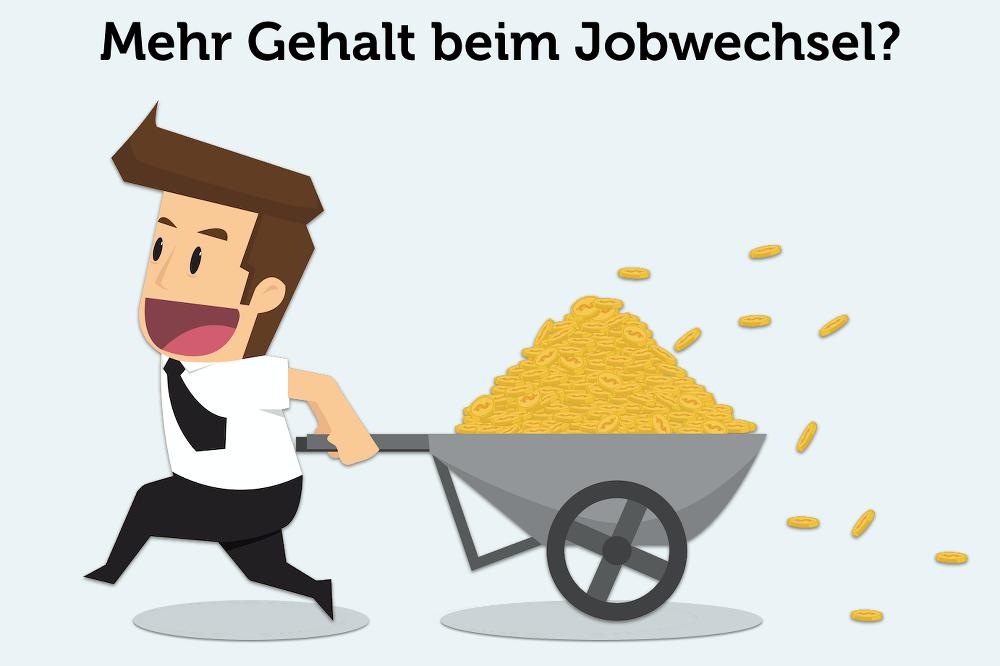 Gehaltsforderungen Jobwechsel Tipps