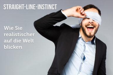 Straight-Line-Instinct: Wie wir uns selbst betrügen