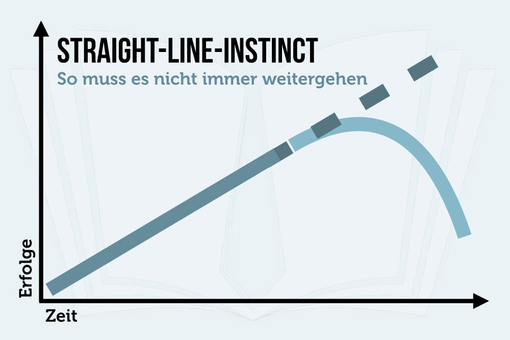 Straight Line Instinct Psychologie Fortfuehrung Selbstbetrug Wahrnehmung