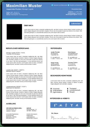 Lebenlauf Tabellarisch Vorlage Muster Xing Bewerbung Word Beispiel Foto 01