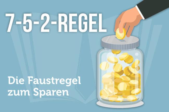 752-Regel: Faustregel zum Sparen