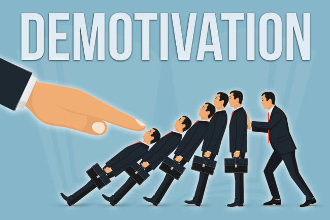 Demotivation: Was Mitarbeiter ausbremst
