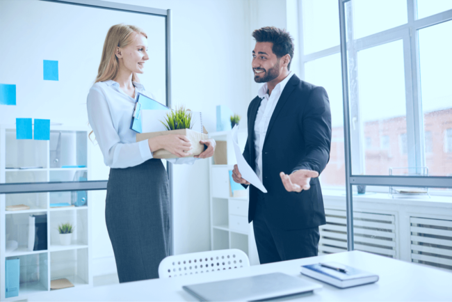 Einstiegsgespräch: Tipps für den ersten Arbeitstag