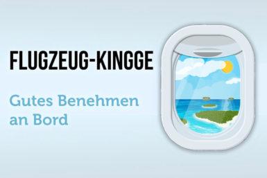 Flugzeug-Knigge: Regeln für gutes Benehmen an Bord