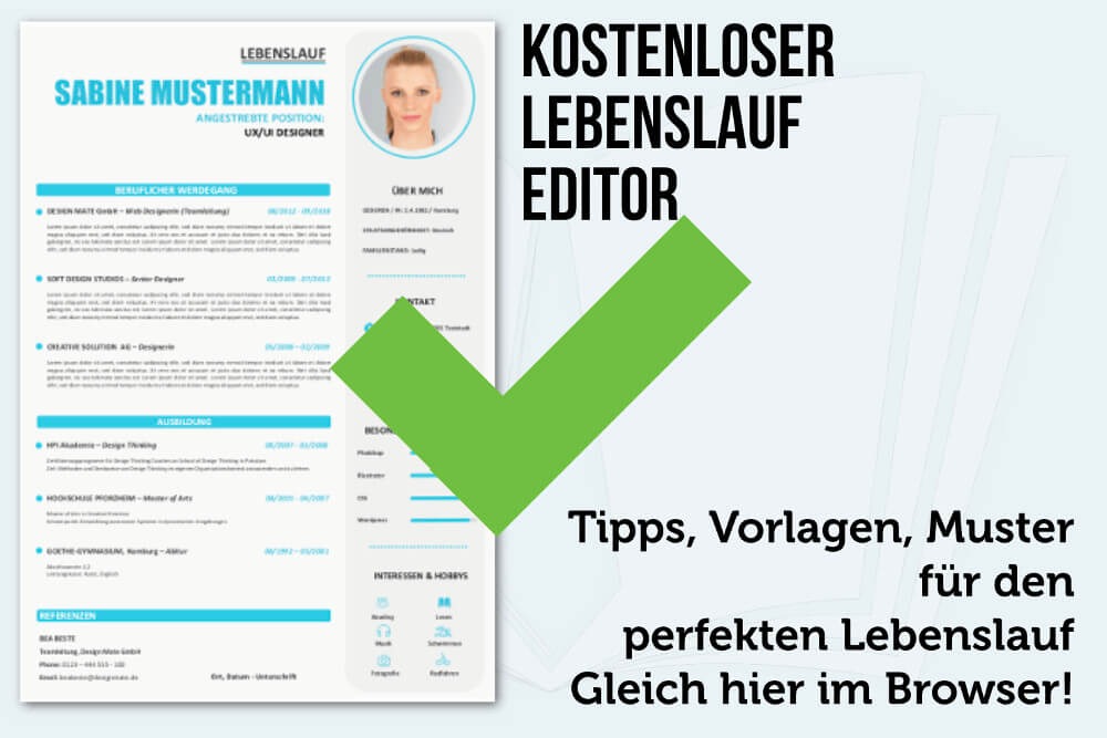 Lebenslauf Editor Formulieren Direkt Im Browser Karrierebibelde