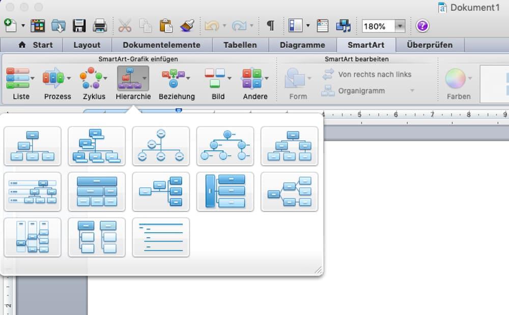 Organigramm Vorlage In Word Powerpoint Excel Erstellen 3