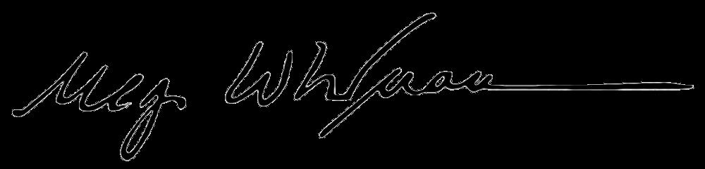 Unterschrift Meg Whitman Ebay