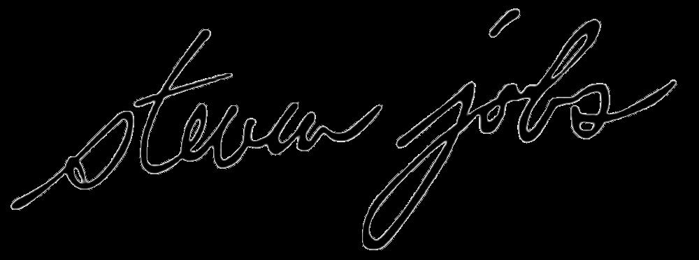 Unterschrift Steve Jobs Apple