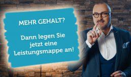 Video Vorschau Leistungsmappe Mehr Gehalt Verhandlungstrick