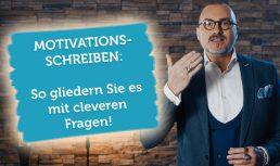 Video Vorschau Motivationsschreiben Gliedern Fragen