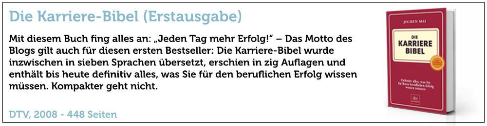 Buch Banner Karrierebibel 2008