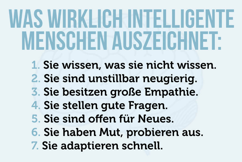 Intelligenztest Intelligenz Definition Intelligente Menschen Spruch